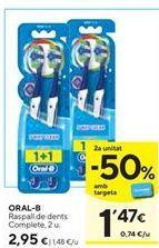Oferta de Cepillo de dientes Oral B por 2,95€