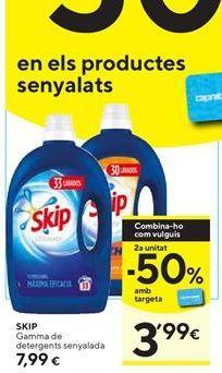Oferta de Detergente Skip por 7,99€