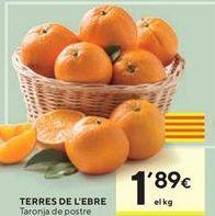 Oferta de Naranjas torres de l'ebre  por 1,89€