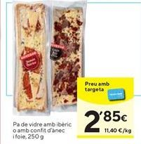 Oferta de Pan de cristal  por 2,85€