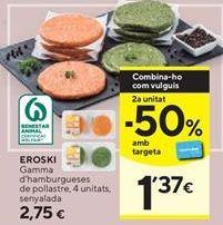 Oferta de Muslos de pollo sin hueso por 6,9€