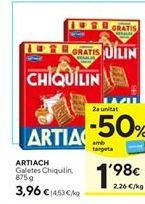 Oferta de Galletas Chiquilín Artiach por 3,69€