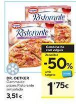 Oferta de Pizza congelada Ristorante por 3,51€