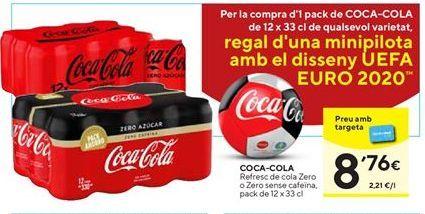 Oferta de Refresco de cola zero o zero sin cafeína Dia por 8,76€