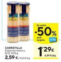 Oferta de Espárragos blancos Carretilla por 2,59€