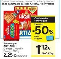 Oferta de Galletas Chiquilín Artiach por 2,25€