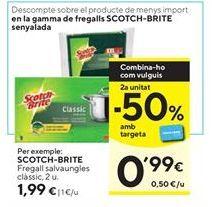 Oferta de Fregona Scotch-Brite por 1,99€