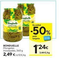 Oferta de Judías verdes Bonduelle por 2,49€