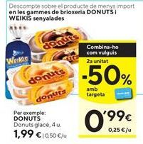 Oferta de Donuts glace por 1,99€