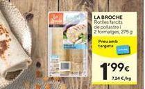 Oferta de Entrantes La Broche por 1,99€