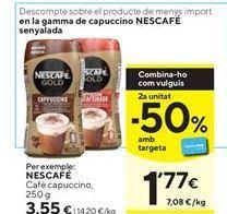 Oferta de Café cappuccino Nescafé por 3,55€