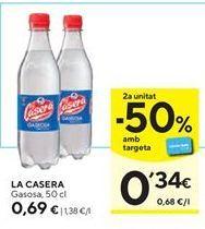 Oferta de Gaseosa La Casera por 0,69€