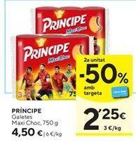 Oferta de Galletas Príncipe Lu por 4,5€