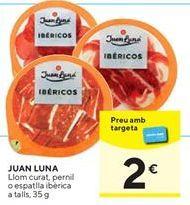 Oferta de Ibéricos  Juan Luna por 2€