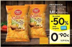 Oferta de Patatas fritas Frit Ravich por 1,81€