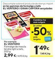 Oferta de Queso mezcla El Ventero por 2,99€