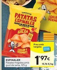 Oferta de Patatas fritas Espinaler por 1,97€