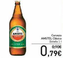 Oferta de Cerveza AMSTEL Clásica por 0,79€