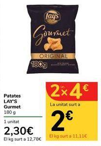 Oferta de Patatas LAY'S Gourmet por 2,3€