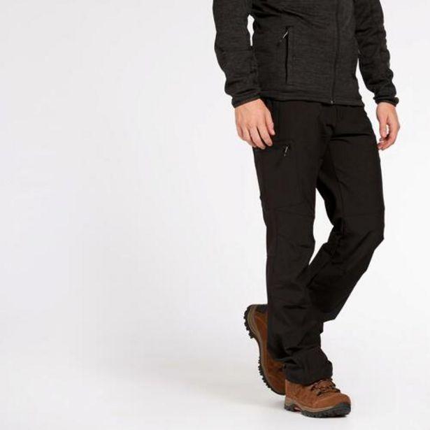 Oferta de Pantalón Montaña Negro Boriken por 22,47€
