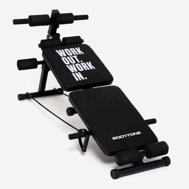 Oferta de Banco Musculación Bodytone Db1 por 69,99€