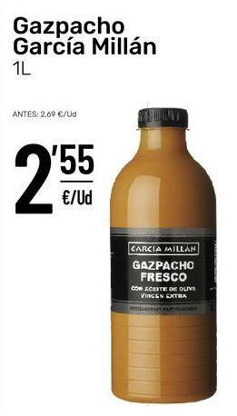 Oferta de Gazpacho por 2,55€