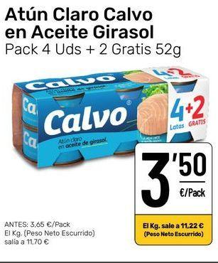 Oferta de Atún claro por 3,5€