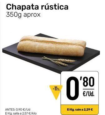 Oferta de Pan por 0,8€