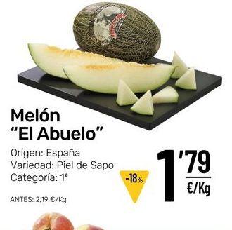 Oferta de Melón por 1,79€