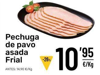 Oferta de Pechuga de pavo por 10,95€