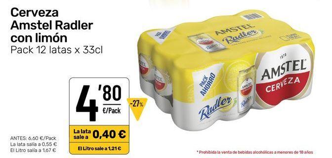 Oferta de Cerveza por 4,8€