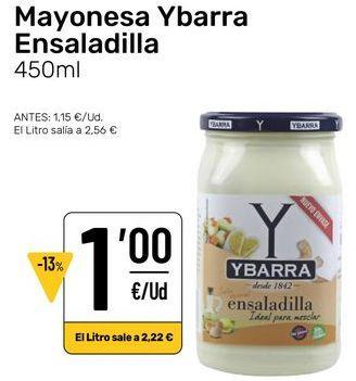 Oferta de Mayonesa por 1€