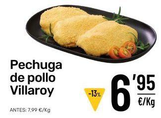 Oferta de Pechuga de pollo por 6,95€