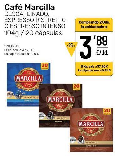 Oferta de Café por 3,89€