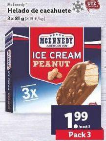 Oferta de Helados de cacahuete  Mcennedy por 1,99€
