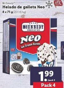 Oferta de Helados de galleta Neo Mcennedy por 1,99€