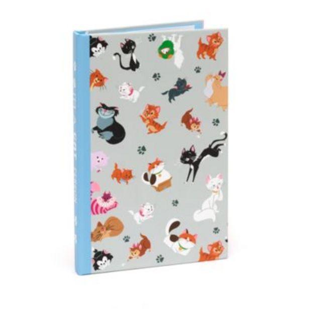 Oferta de Set cuaderno y notas adhesivas gatos Disney, Disney Store por 6€