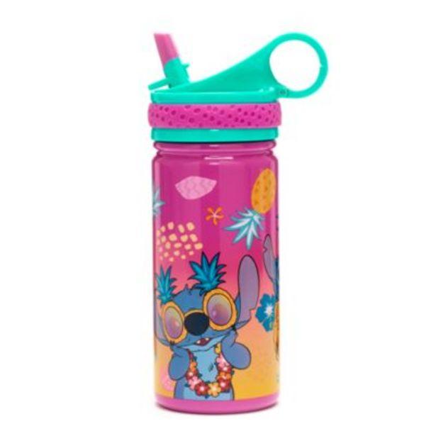 Oferta de Botella agua acero inoxidable Stitch, Disney Store por 16€