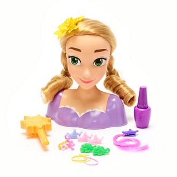 Oferta de Cabeza peluquería Rapunzel, Enredados, Disney Store por 11€