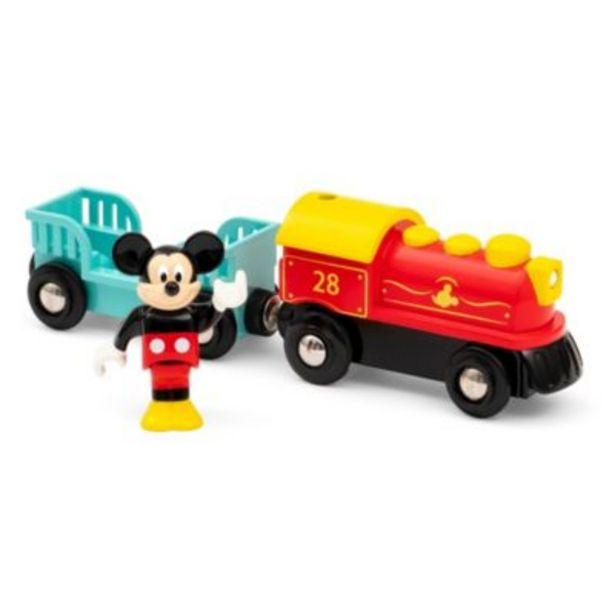 Oferta de Set tren juguete Mickey Mouse, Brio por 29,99€
