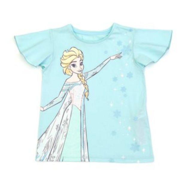 Oferta de Camiseta infantil Elsa, Frozen2, Disney Store por 7,5€