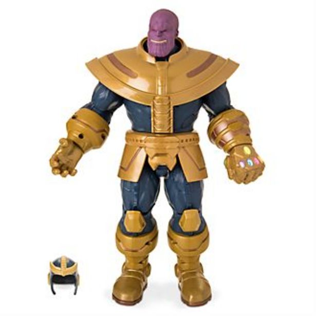 Oferta de Figura acción parlante Thanos, Disney Store por 36€