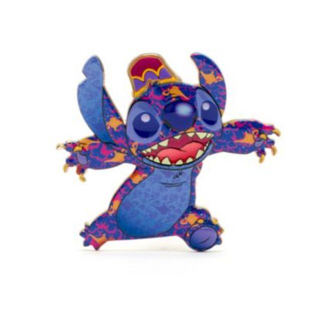 Oferta de Pin grande Aladdín, Stitch Crashes Disney, Disney Store (6 de 12) por 22€
