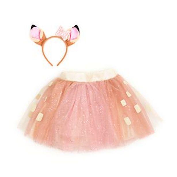 Oferta de Conjunto infantil Bambi, tutú y diadema, Disney Store por 19,6€