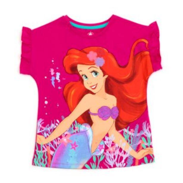 Oferta de Camiseta infantil La Sirenita, Disney Store por 10,5€