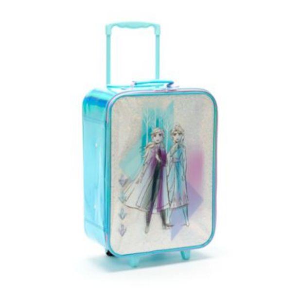 Oferta de Maleta con ruedas Anna y Elsa, Frozen 2, Disney Store por 45,9€