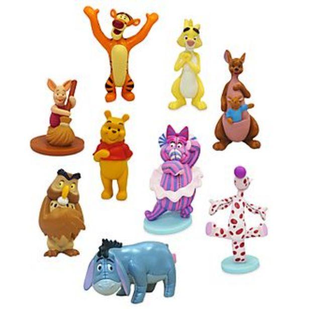 Oferta de Set juego figuritas lujo Winnie the Pooh, Disney Store por 17,9€