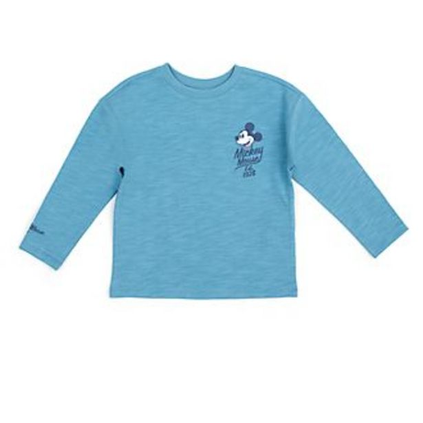 Oferta de Camiseta infantil verde azulado Mickey y sus amigos, Disney Store por 11,9€