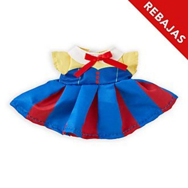 Oferta de Traje inspirado en Blancanieves, peluche pequeño nuiMOs, Disney Store por 7,9€