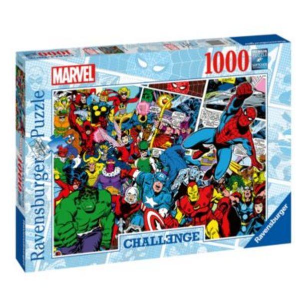 Oferta de Ravensburger puzle desafío Marvel (1.000piezas) por 20€